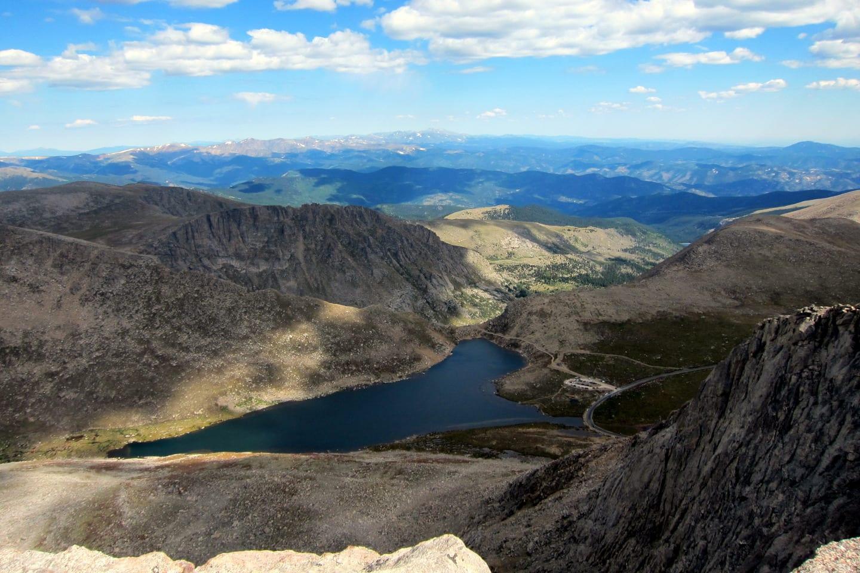 Mount Evans Wilderness Summit Overlook