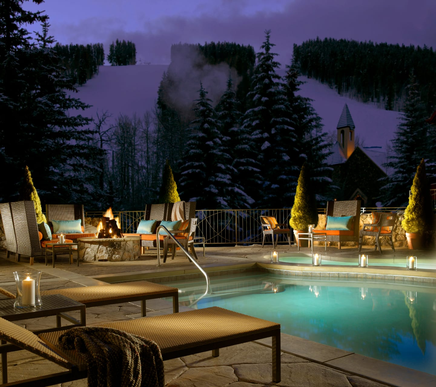 Osprey Beaver Creek Outdoor Pool Winter
