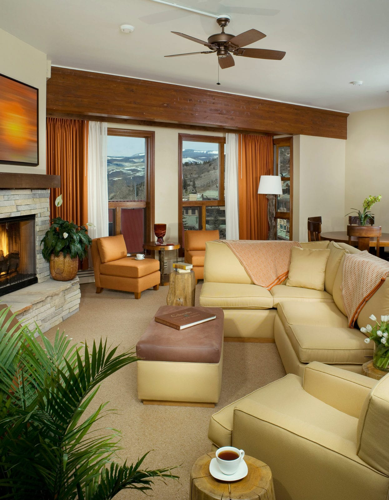 Osprey Beaver Creek Interior Living Room