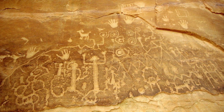 Petroglyph Point Trail Mesa Verde National Park