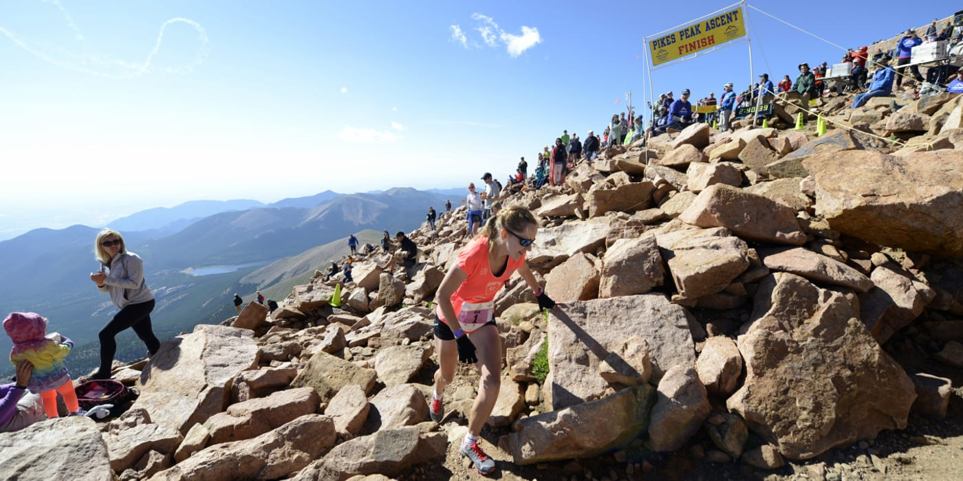 Pikes Peak Ascent Trail Run Summit Finish