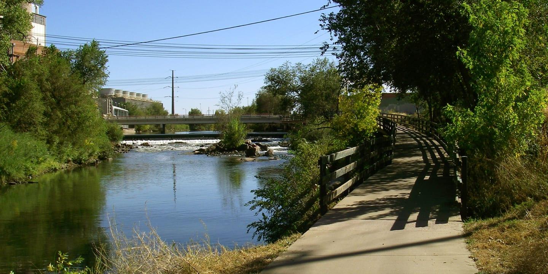 Platte River Greenway Trail Colorado