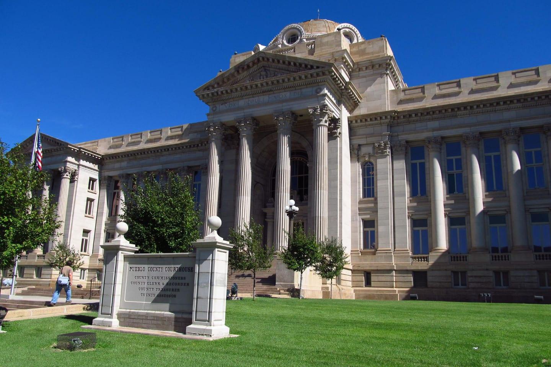 Pueblo County Courthouse Colorado