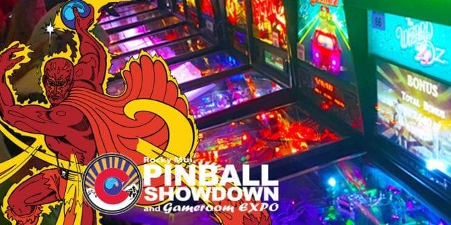 Rocky Mountain Pinball Showdown and Gameroom Expo Colorado