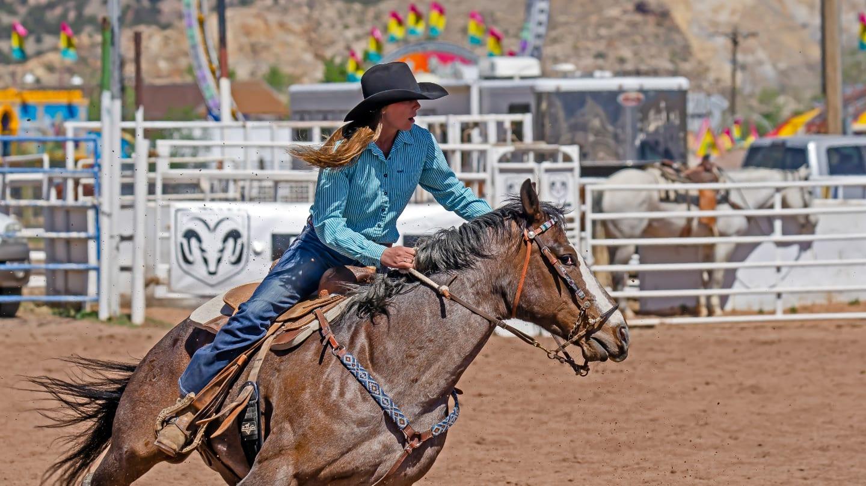 Colorado Rodeo Canon City Blossom Festival
