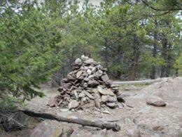 Round Mountain Trail Summit Rock Pile