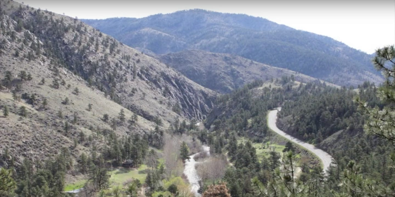 Round Mountain Trail Overlook Colorado
