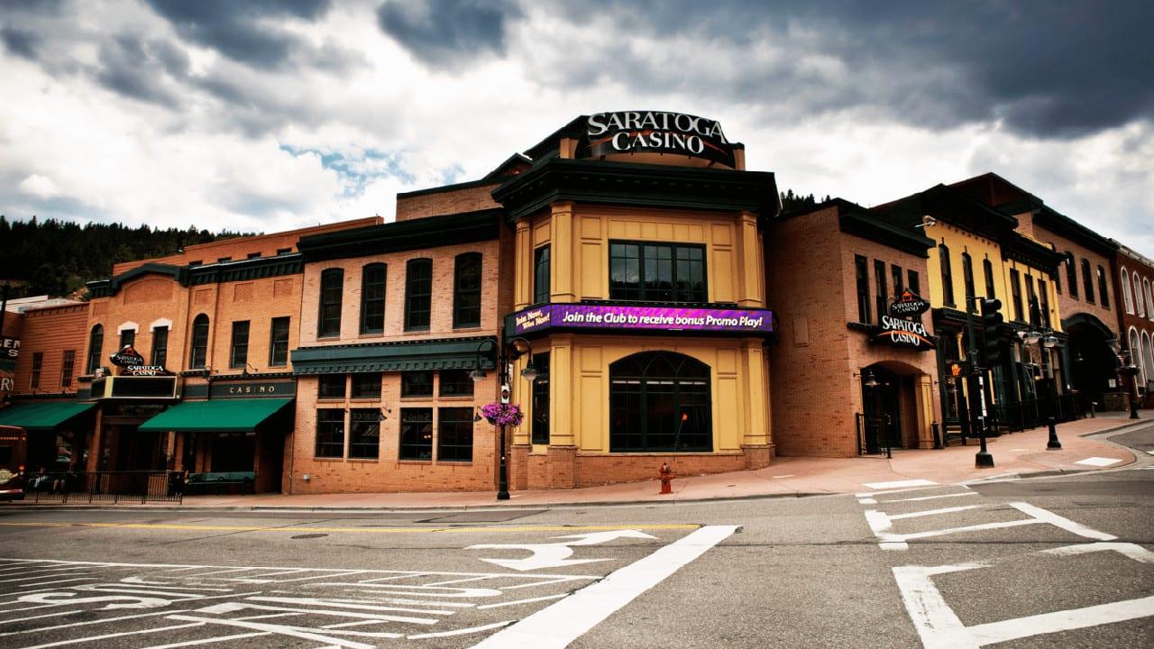 Saratoga Casino Black Hawk Exterior Clouds