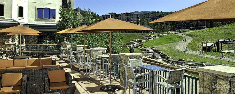 Sheraton Steamboat Resort Villas Deck Summer