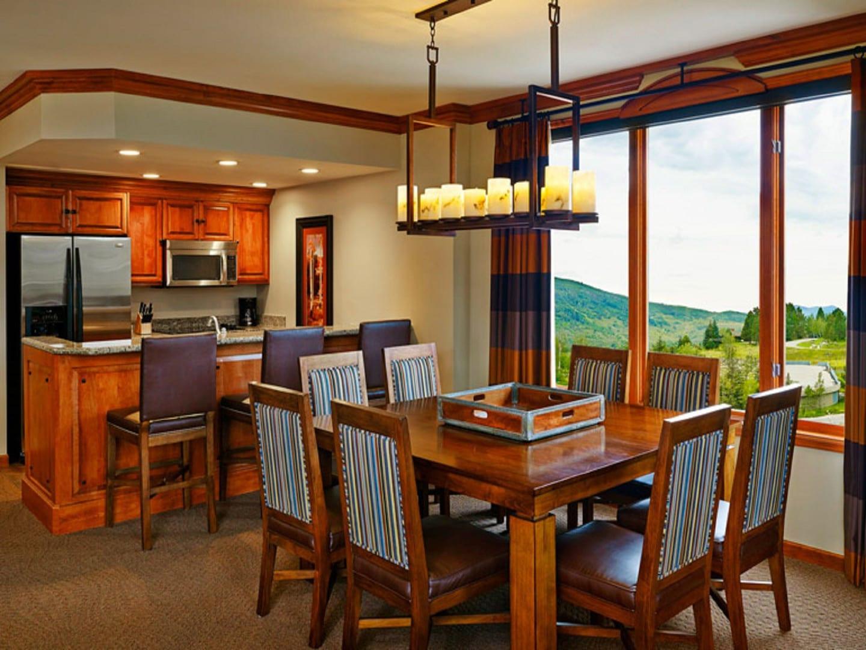 Sheraton Steamboat Resort Villas Dining Kitchen