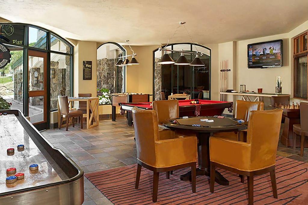 Sheraton Steamboat Resort Villas Game Room
