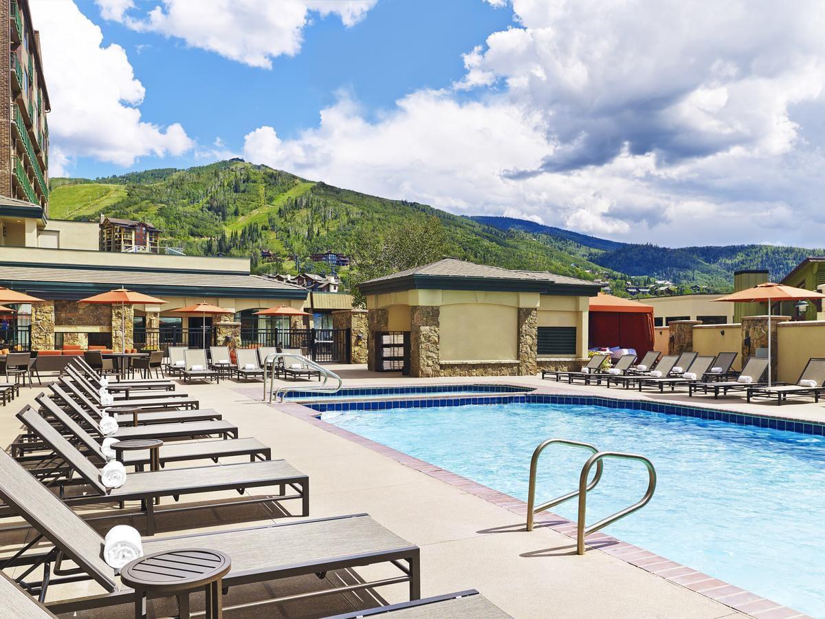 Sheraton Steamboat Resort Villas Outdoor Pool