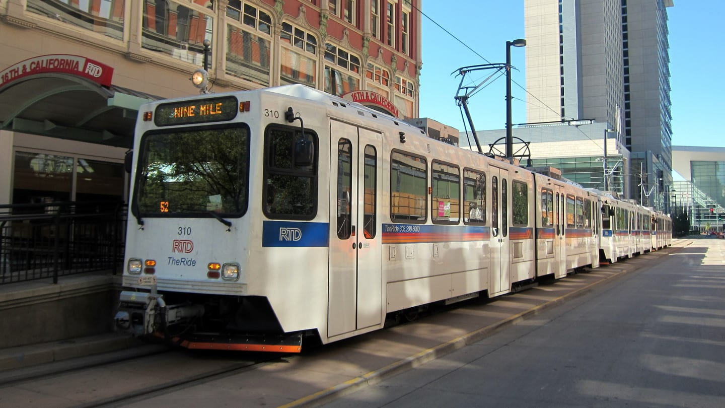 Denver CBD RTD H Line Train