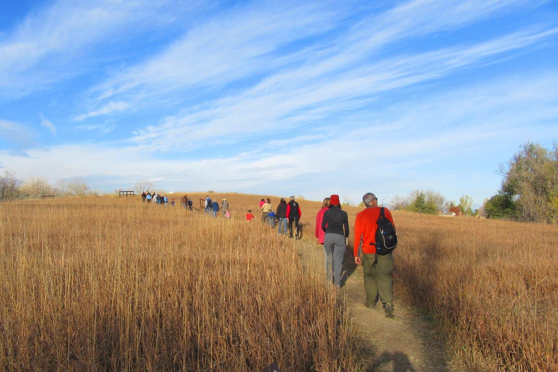 Two Ponds Trail Arvada Hiking Path