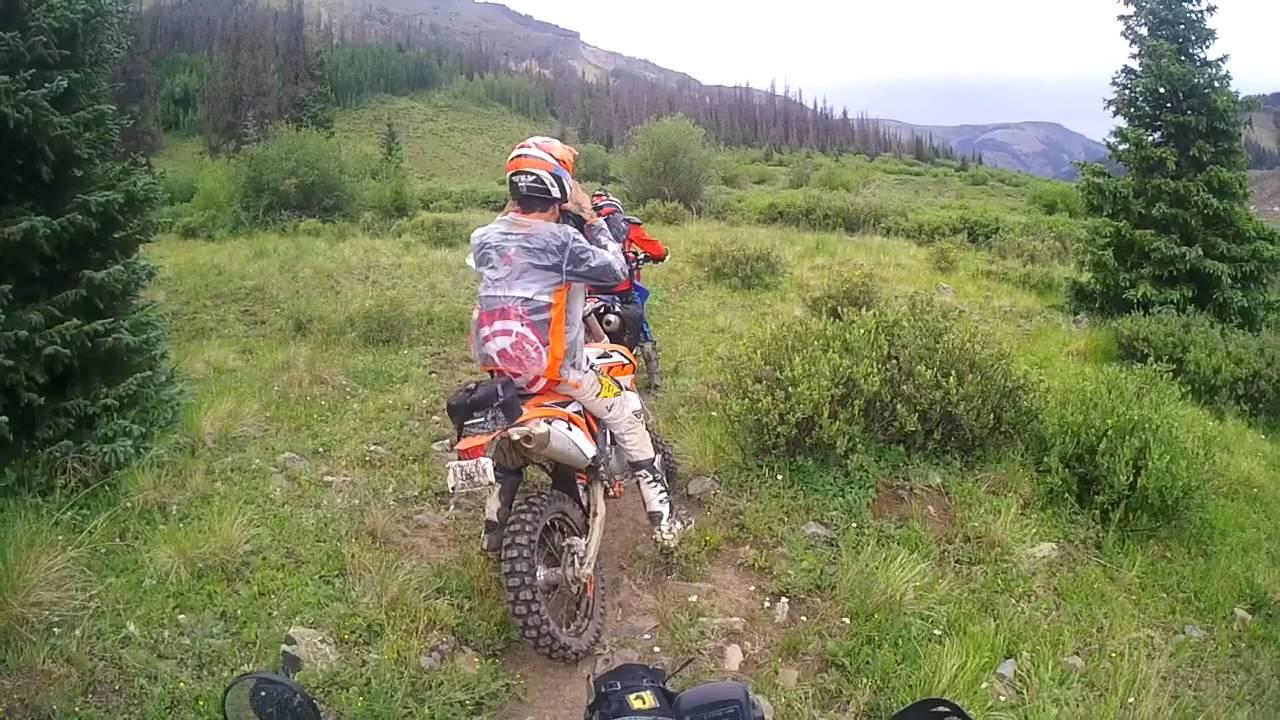 West Lost Trail Creek Colorado Dirt Bike