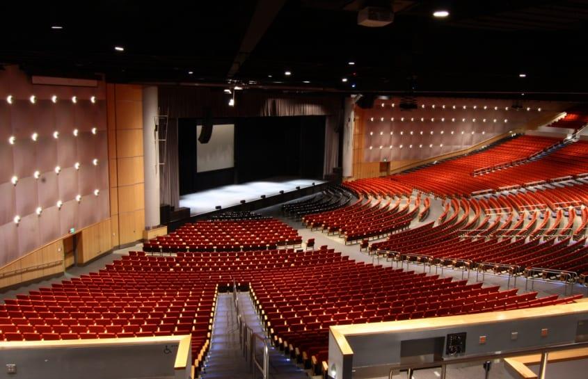 Bellco Theatre Denver Interior Seating Stage