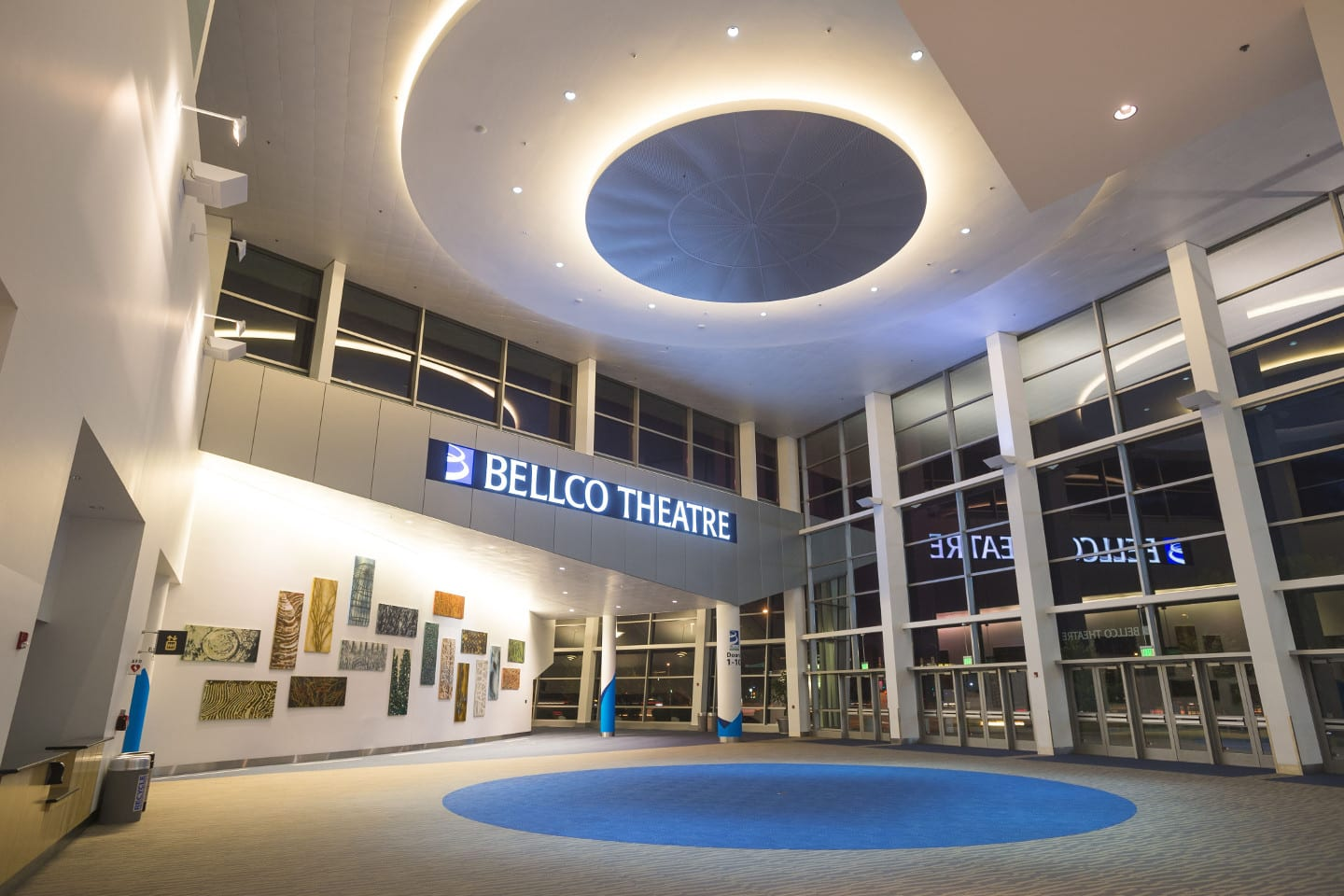 Bellco Theatre Denver Interior Entrance