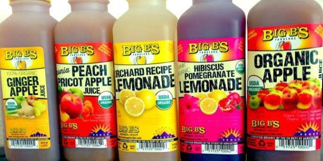 Big B's Juices Hotchkiss Colorado