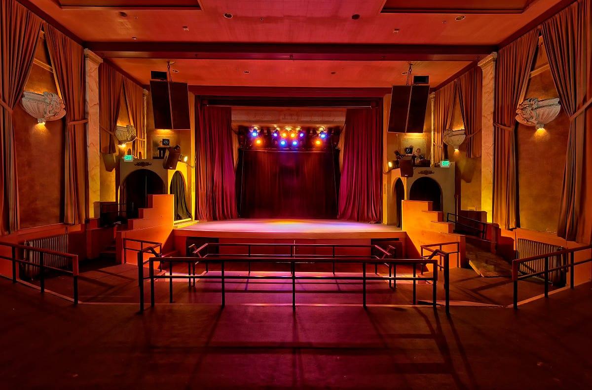Bluebird Theatre Interior Stage Denver