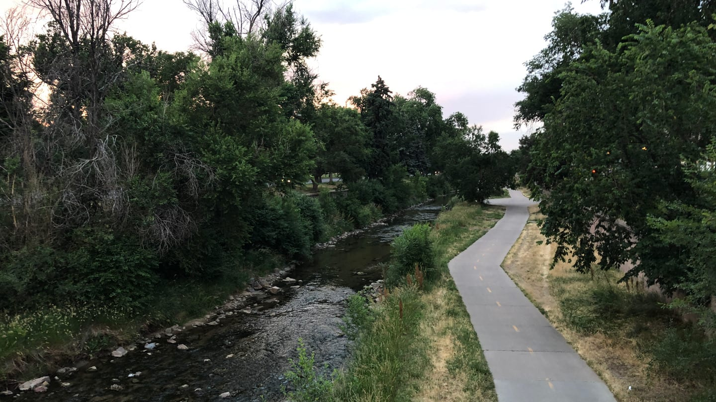 Cherry Creek Trail Denver Colorado