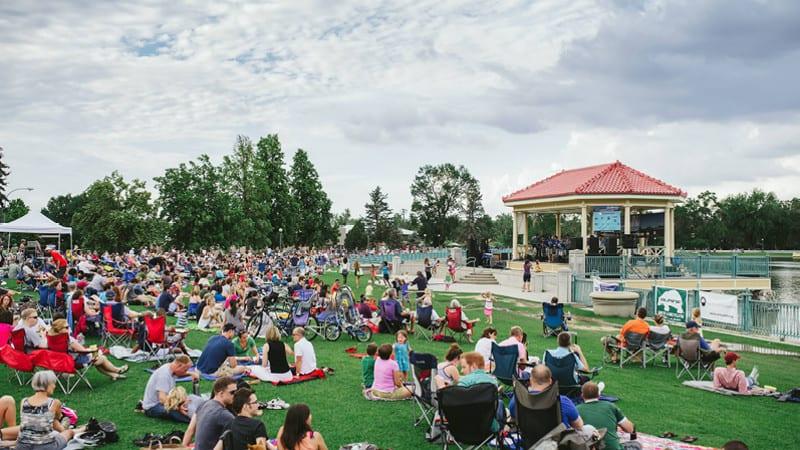 Seri Jazz Musim Panas Taman Kota Denver