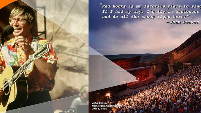Colorado Music Hall of Fame John Denver Red Rocks Morrison