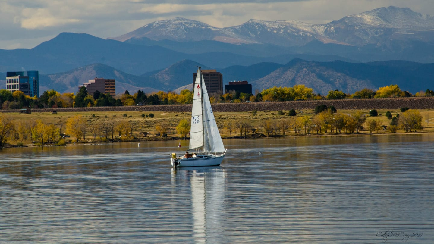 Cherry Creek Reservoir Sail Boat