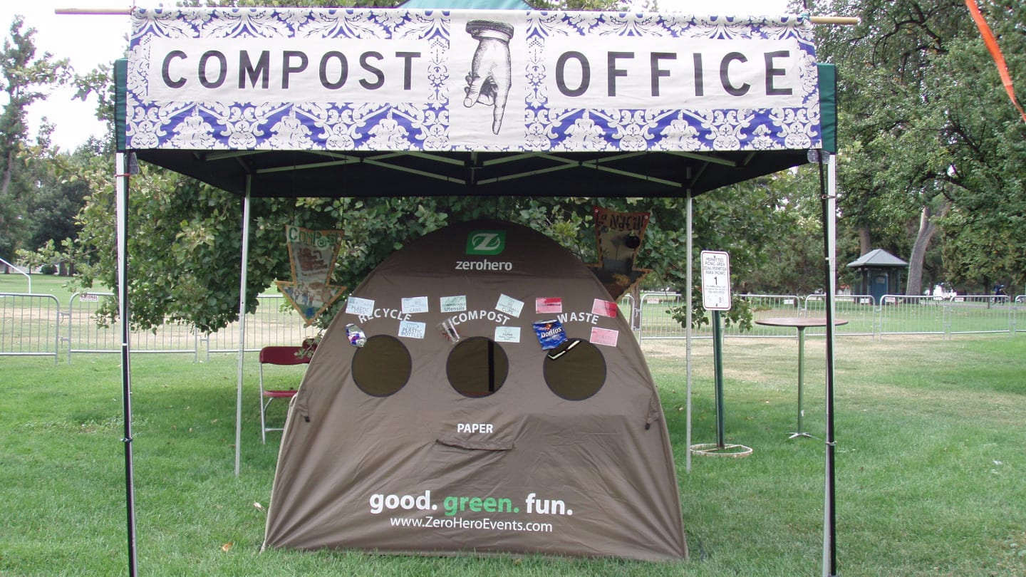 Outdoor Recycle Compost Office Denver Park