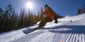 Skiing Colorado Corduroy