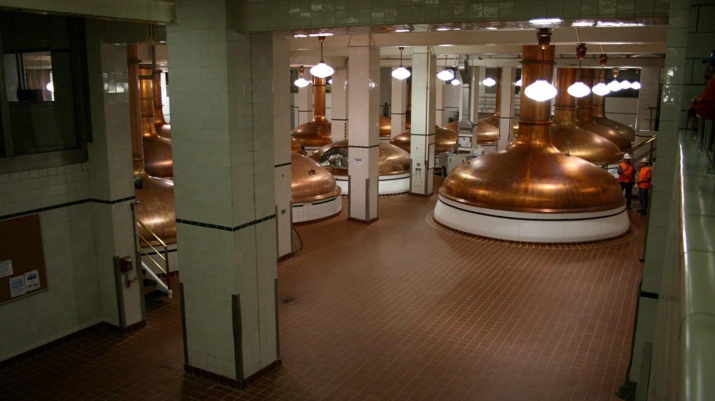 Coors Brewery Tour Cooper Brew Kettles Golden
