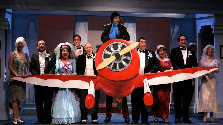 Creede Repertory Theatre Play Plane Colorado
