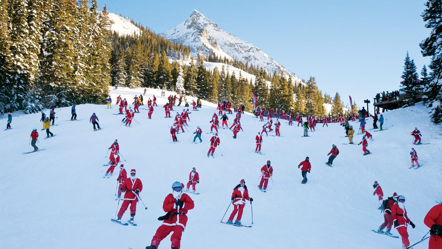 Crested Butte Mountain Resort Santas Skiing