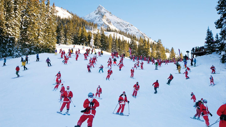 Crested Butte Mountain Resort Santas Skiing