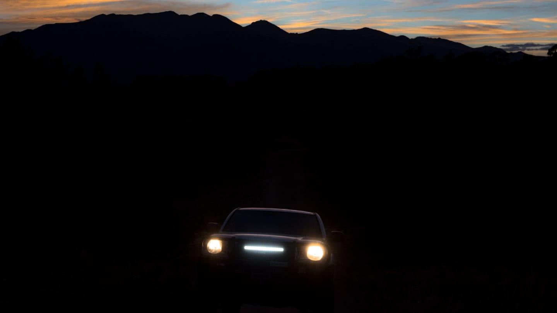 4x4 Backcountry Driving Night Colorado
