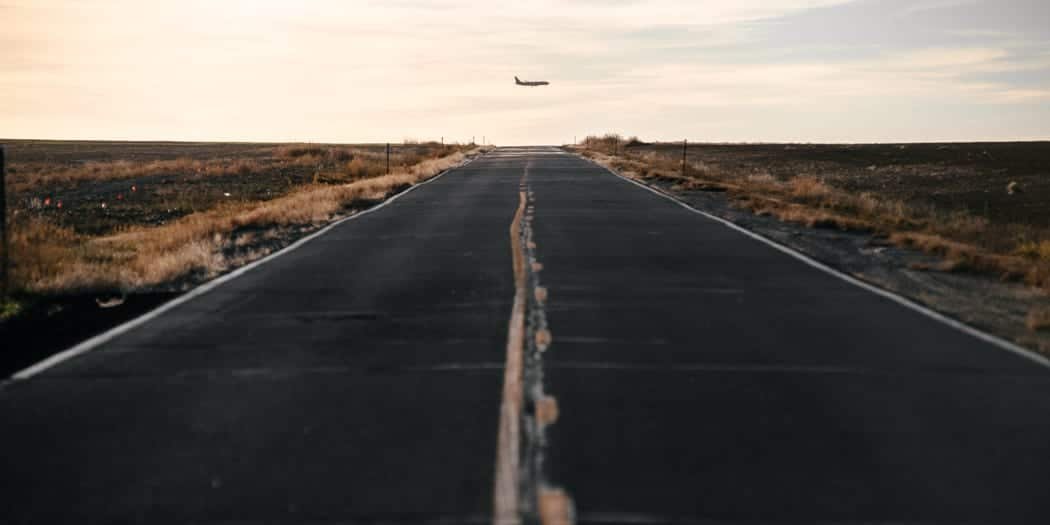 Colorado Highway Driving Airplane