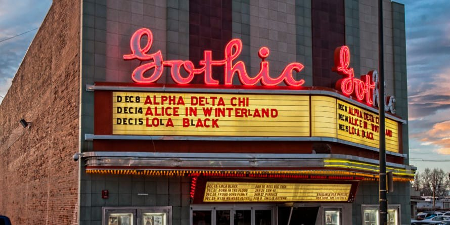 Gothic Theatre Englewood Colorado