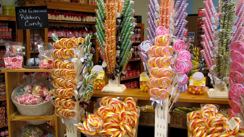 Hammond's Candies Gift Shop Candy