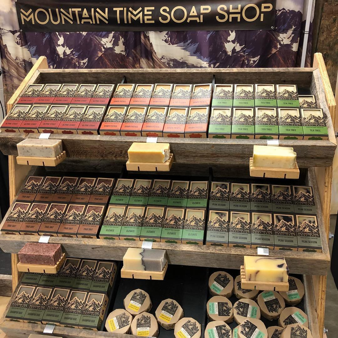 All-natural Soap From Colorado