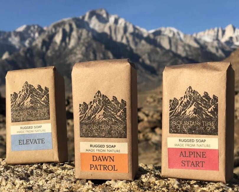 Mountain Time Soap Bars Colorado
