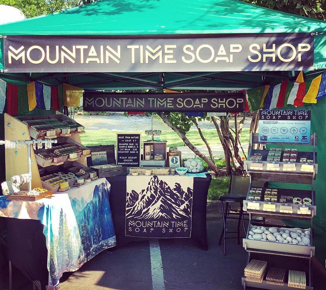 Mountain Time Soap Boulder Creek Festival