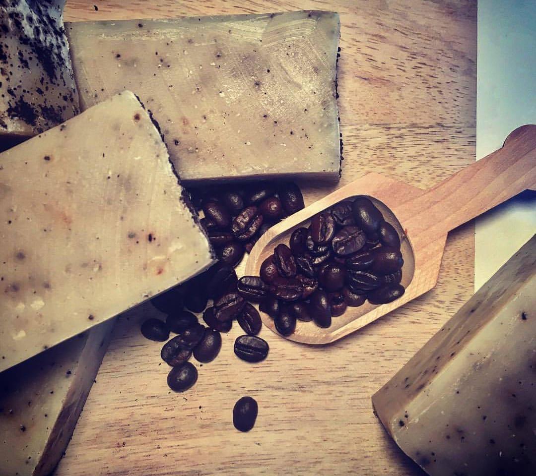 Mountain Time Soap Bar Coffee Beans