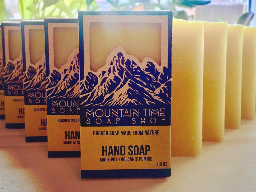 Mountain Time Soap Bar Colorado