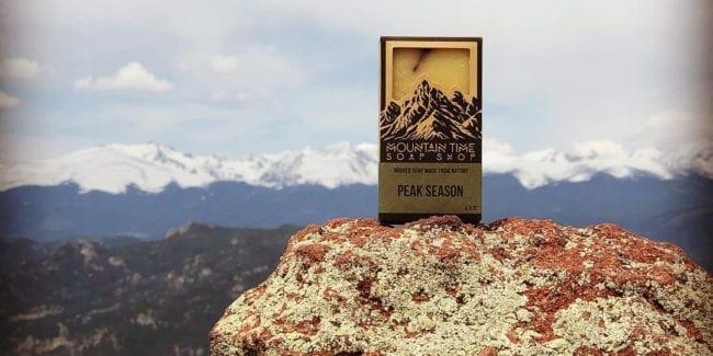Mountain Time Soap Colorado