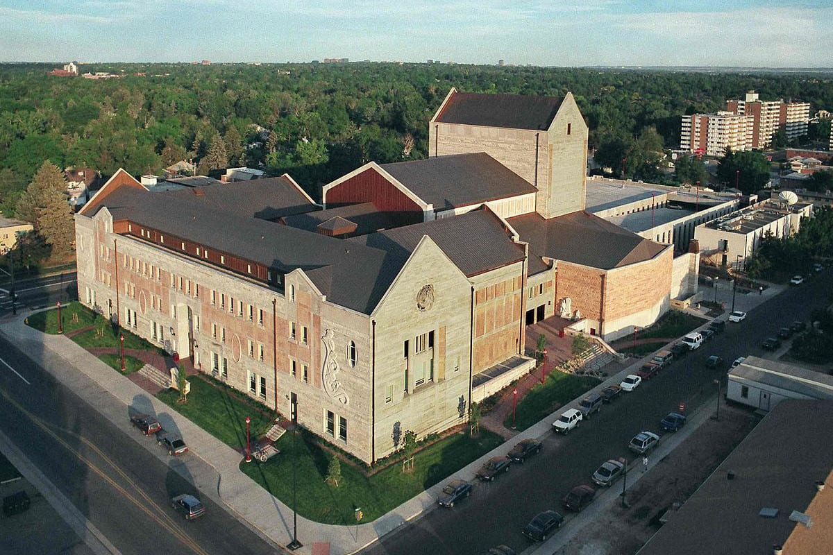Newman Center for Performing Arts Aerial View