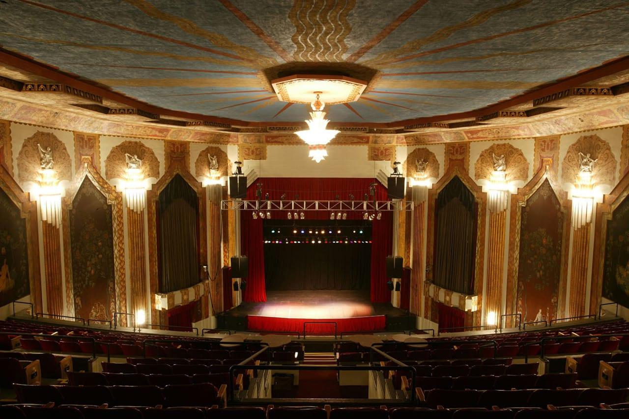 Paramount Theatre Interior Stage