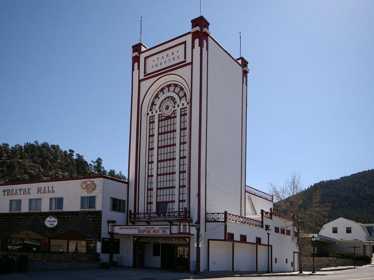 Historic Park Theatre and Cafe Estes Park Colorado