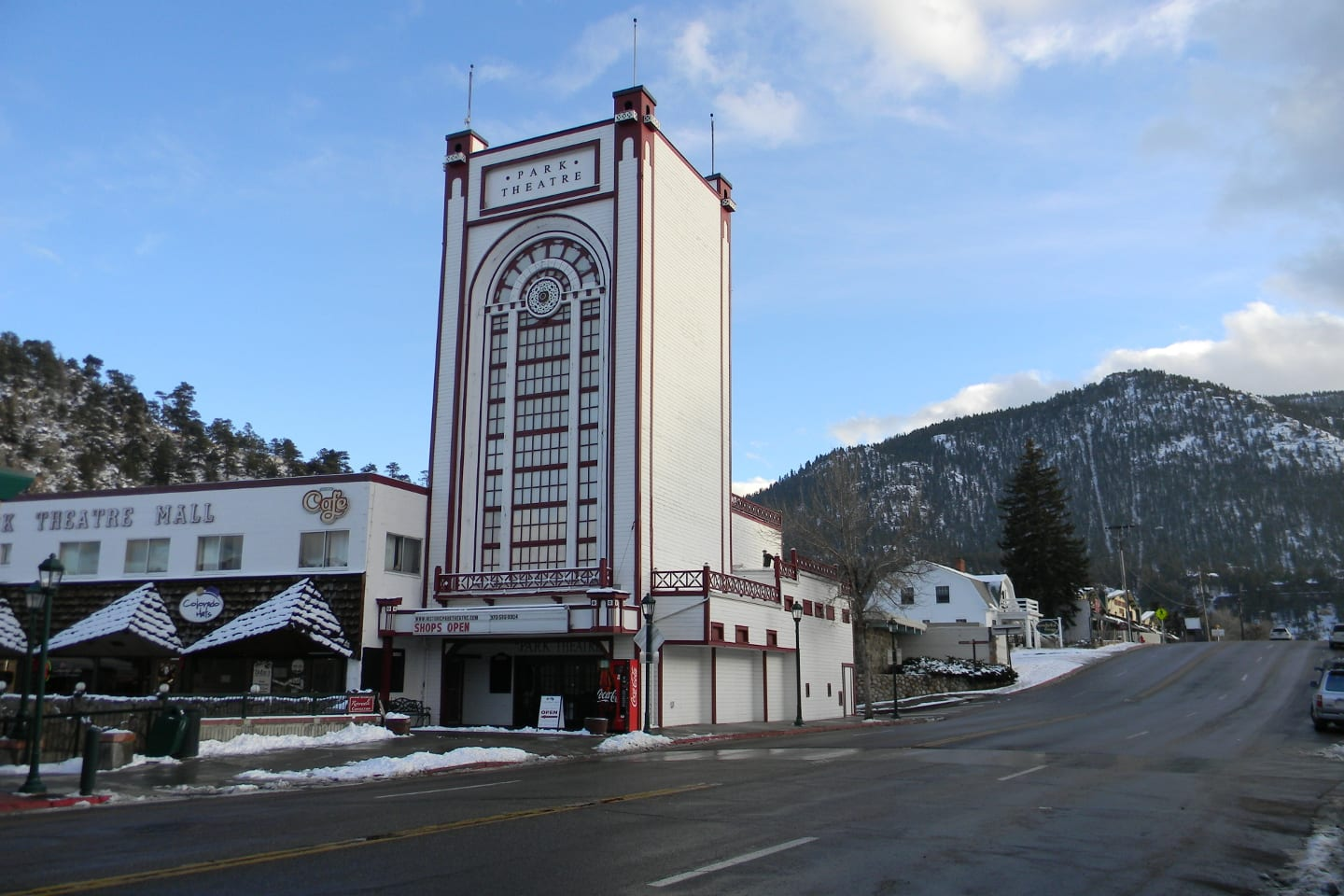 Park Theatre Estes Park Colorado
