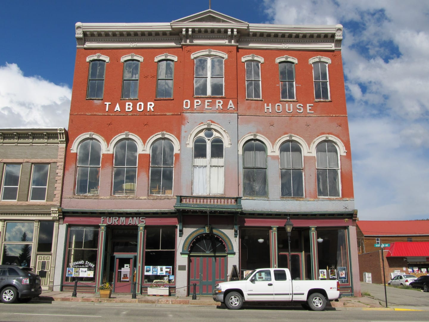 Tabor Opera House Exterior Downtown Leadville
