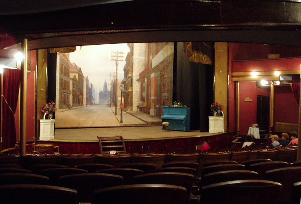Tabor Opera House Interior Stage Leadvlle