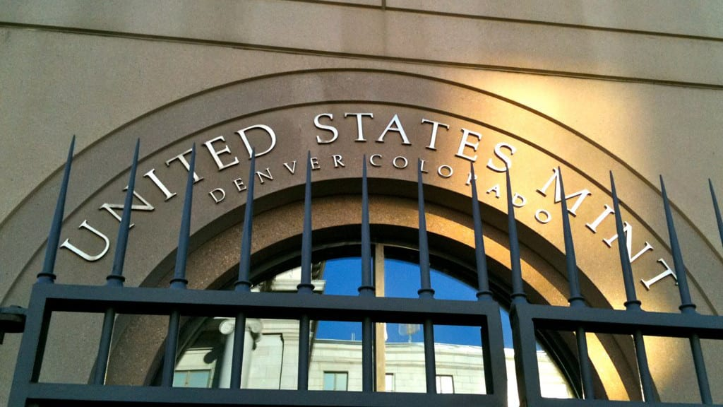 United States Mint Denver Colorado Entry Gate